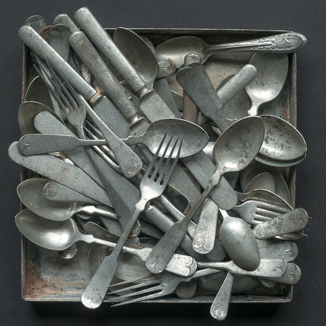 Flatware #2 - The Tray Series