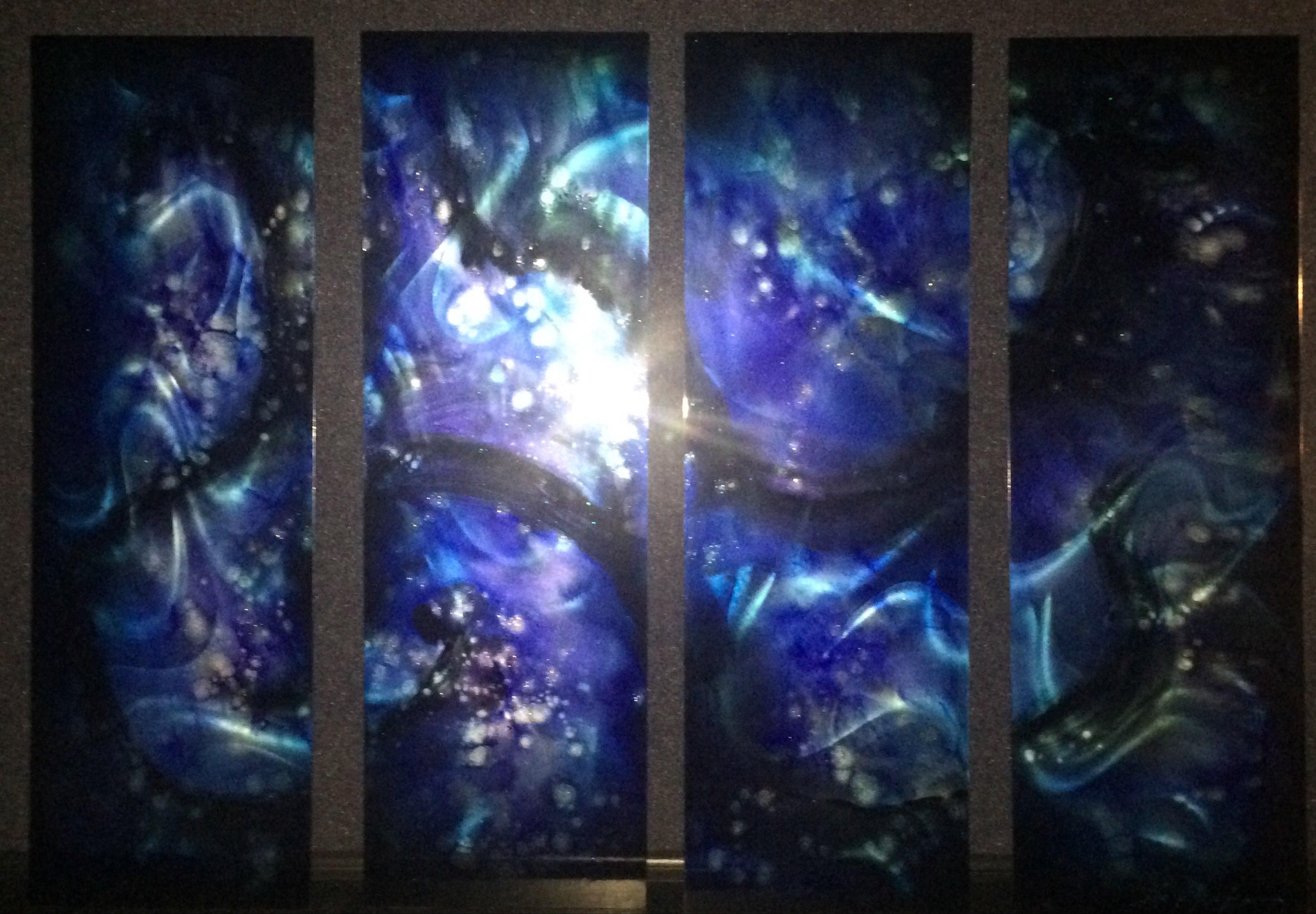 Blue 4 Panel