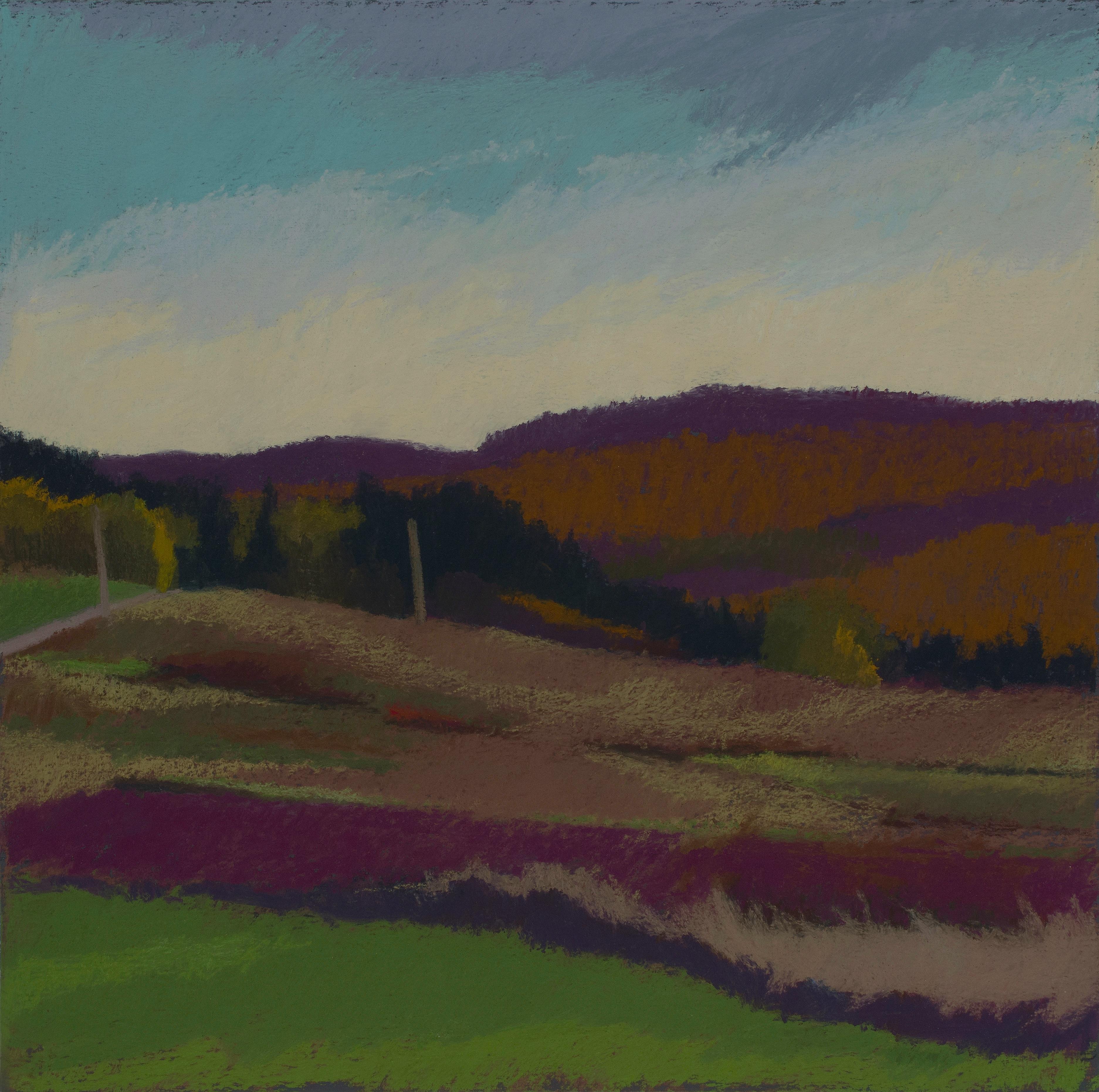 Buckwheat No. 12- The Twang Shall Meet, purple and orange