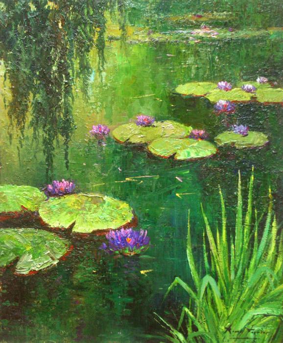 Pond Flowers (Nenufares)- EB-DP