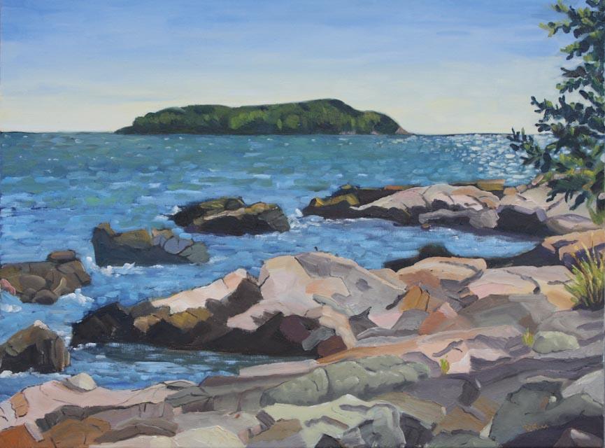 Mark Island Rocks