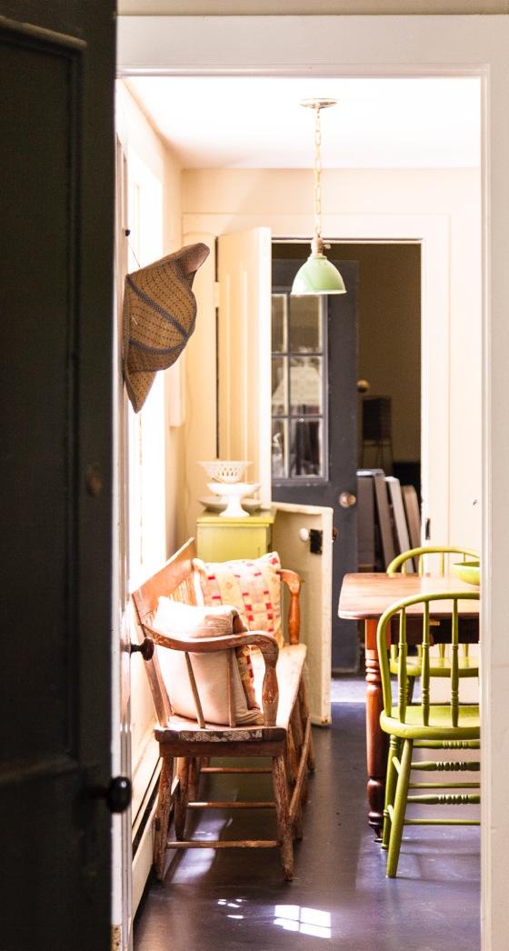 Door to the Kitchen
