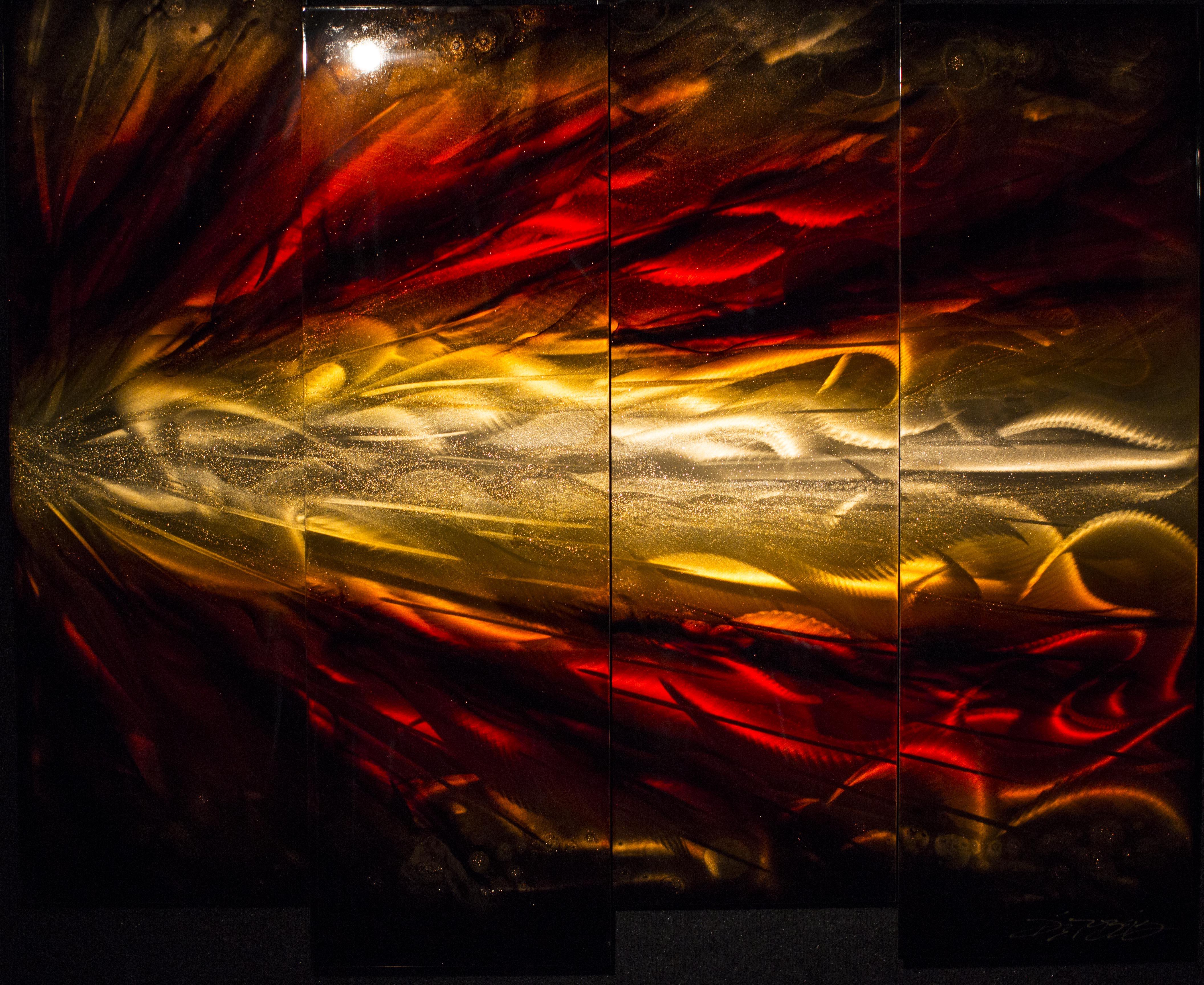Red Shockwave 4 Panel