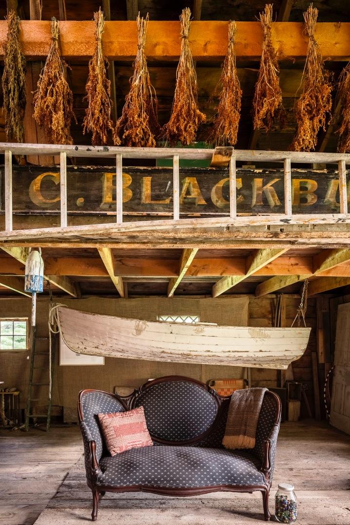 Boat in the Barn