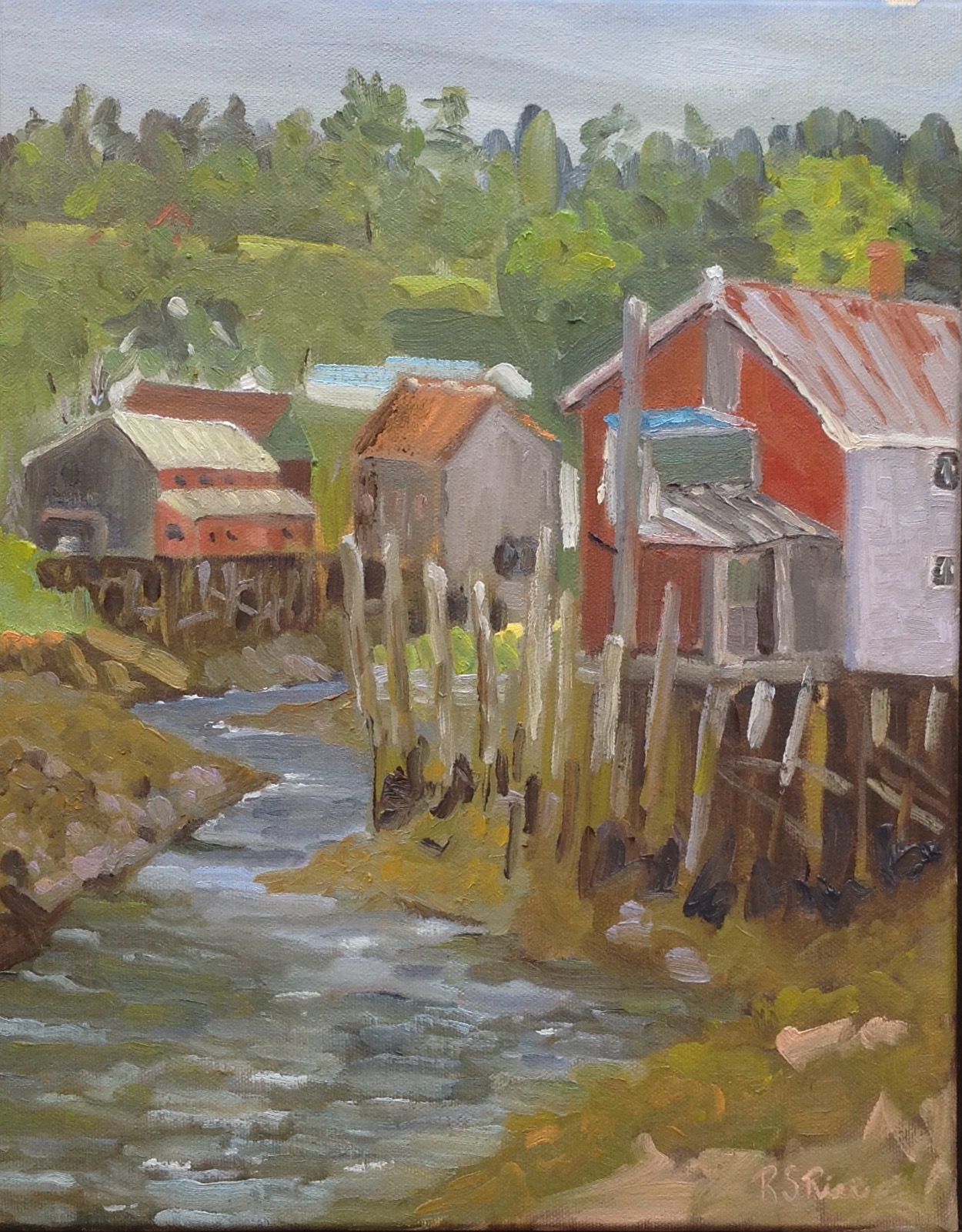 Seal Cove, Creek Tide