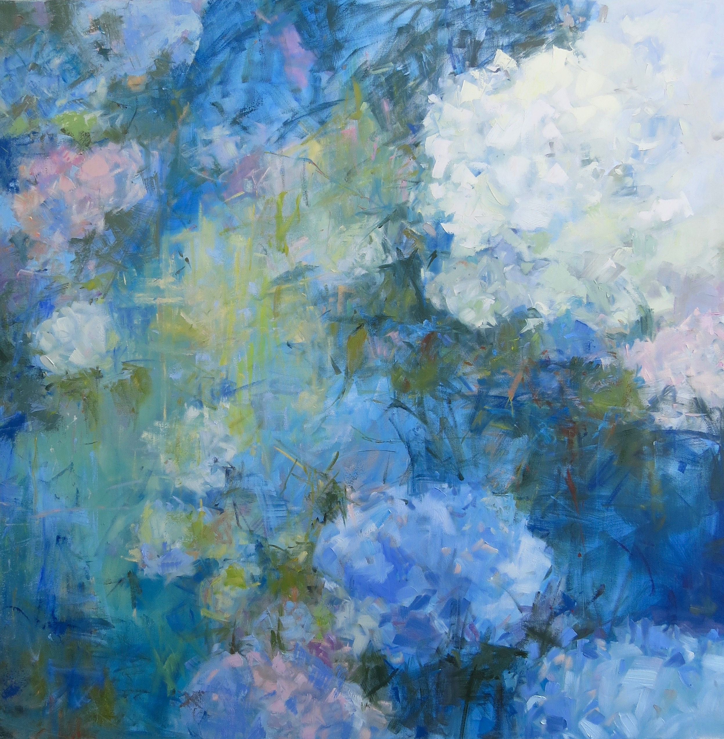 Garden Party: A Series Of Abstract Florals By Marissa Vogl