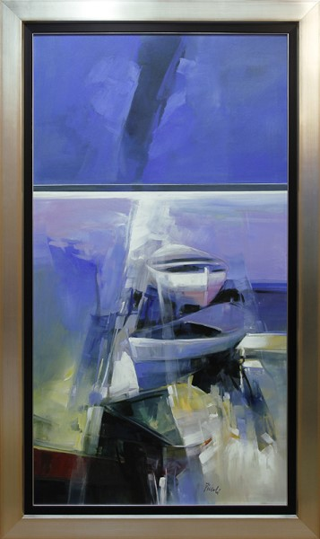 Barche blu (Blue Boat)
