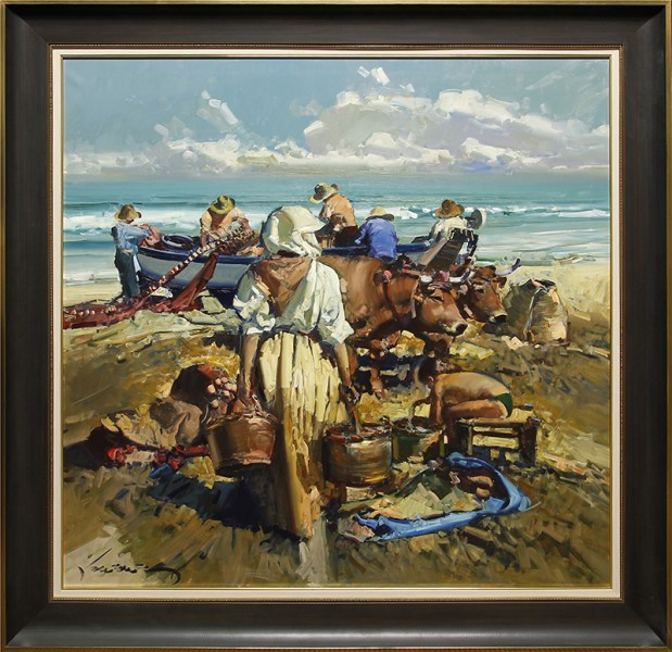 Pescadores de Valencia (Fishermen of Valencia)-YY