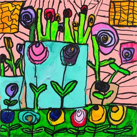 Bouquet of Roses (FRAMED)