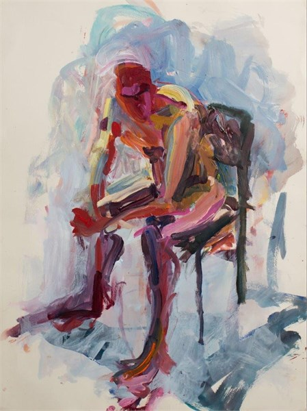 Seated Figure #1