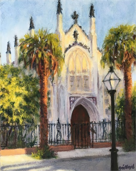 The French Huguenot Church by Susan Gaillard
