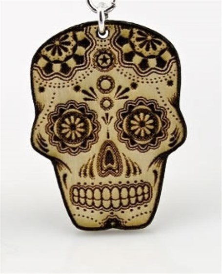 Pendant - Sugar Skull P1388