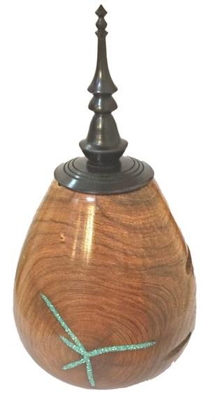 Wood - Mesquite Vessel 2129