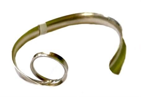 Bracelet - Silver Swirl 58
