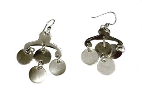 Earrings - Sterling Silver Chandelier