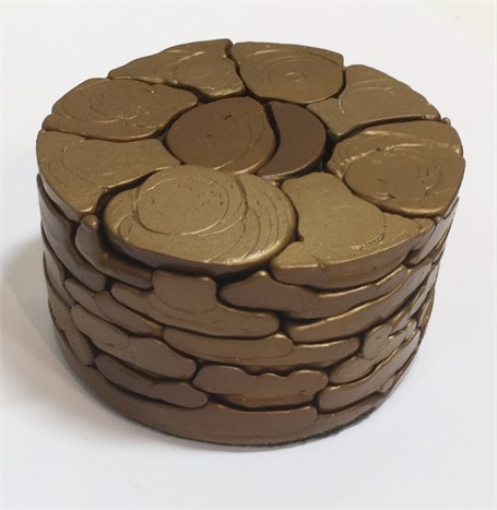 Bronze - Circle Puzzle