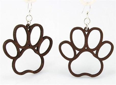 Earrings - Dog Paw  1018
