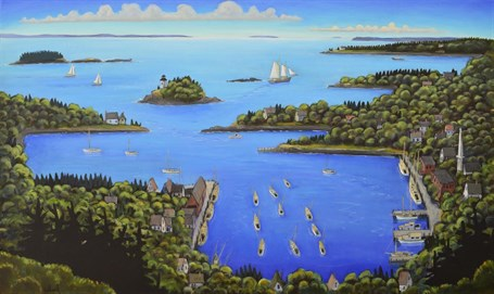 Blue, Blue Bay