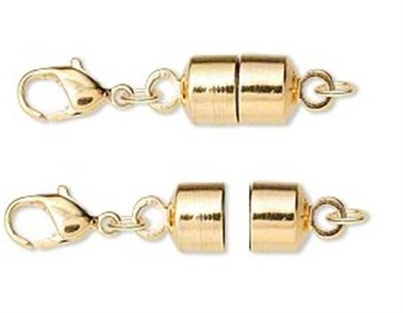 Magnetic Clasp Converter Gold Plated Brass