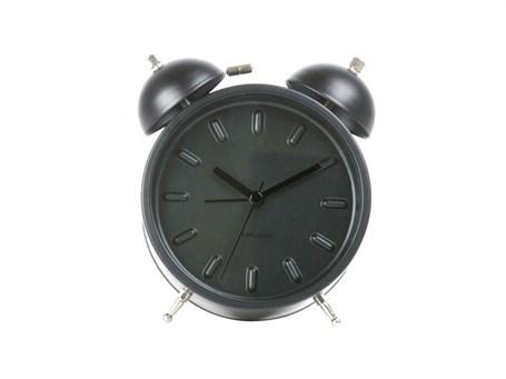 Clock - Table Top Black Twin Bell Alarm