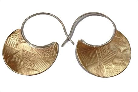 Earrings - Silver & Bronze (PP50)