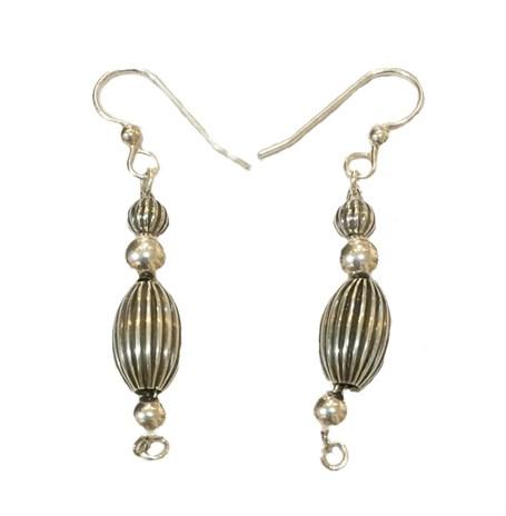 Earrings - Sterling Silver CB Dangles  E-908-2