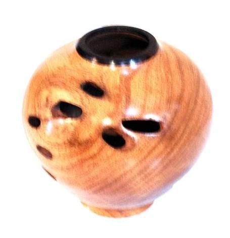 Wood Vessel - Mesquite & Brazilian Blackwood 1683