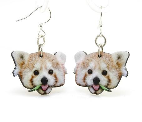 Earrings - Red Panda 1483