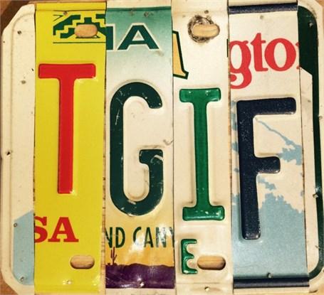 Lost License Plate - TGIF