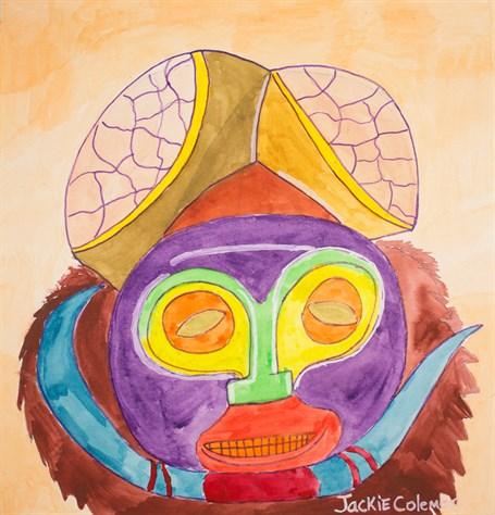 A Buffalo Mask