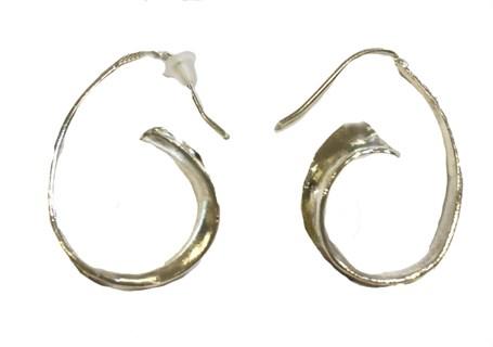 Earrings - Silver Hoops