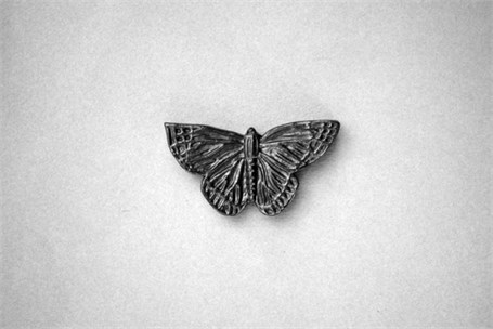 Graphite Sculpture - Butterfly