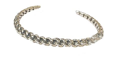 Bracelet - Sterling Silver Tripoli Cuff E-917