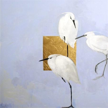 Egrets Humming