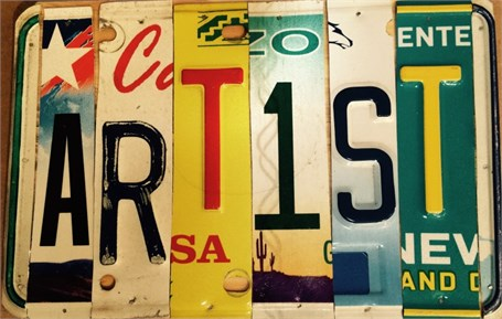 Lost License Plate - Artist