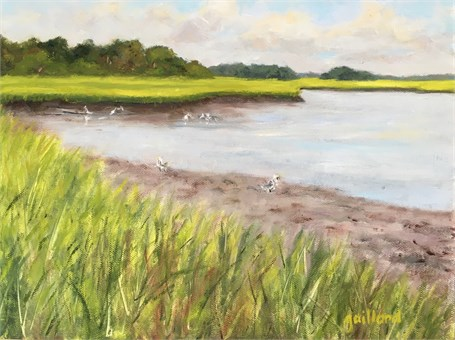 View from Steamboat Landing by Susan Gaillard