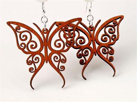 Earrings - Fancy Butterflies 1152