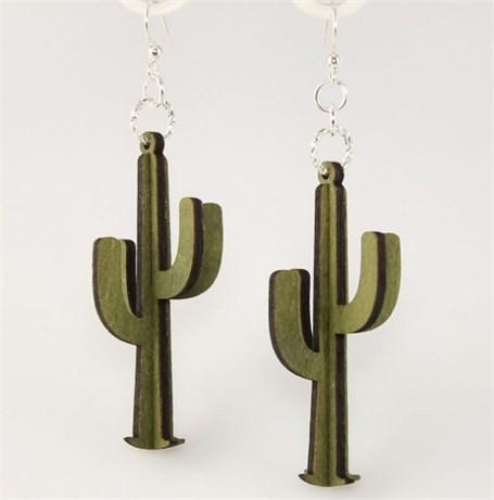 Earrings - 3D Cacti  1230