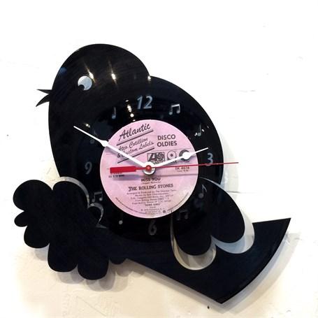 Wall Clock - Laser Cut Bird