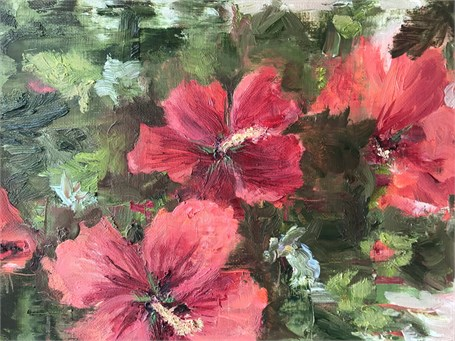 Rose of Sharon by Cynthia Huston