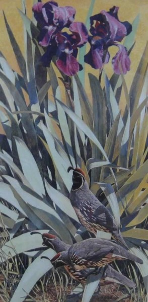 Card - Three In The Garden by Nicholas Wilson