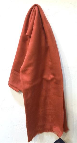 Scarf - Pendleton Rust Luxe Weave Wool