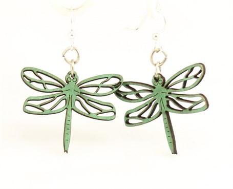 Earrings - Dragonfly Blossoms 113