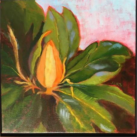 Magnolia Bud by Joyce Erb