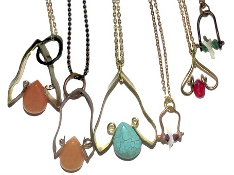 Necklace-assorted Design with chain - 31a