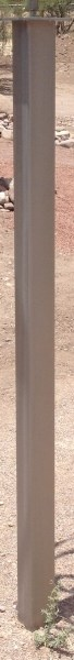 Stainless Steel Pedestal - 5'- 60