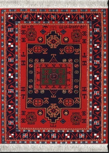 Mouse Rug - The Agra Kazak (mouse pad)