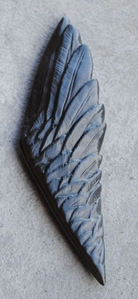 Graphite Sculpture - Wing