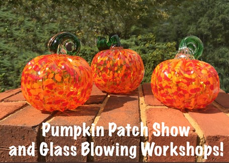 Devan Cole Glass Making Workshops and Pumpkin Patch Show