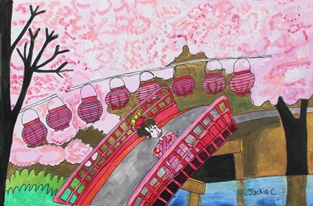 Cherry Blossom (FRAMED)